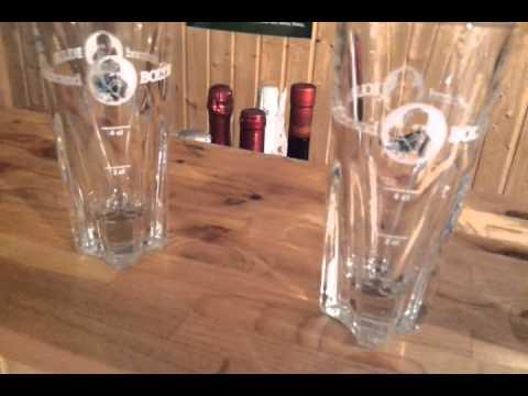 Schnapsdosierer 2 x Glaskugelportionierer Glas 2 cl Schnapsausgießer Dosiergerät