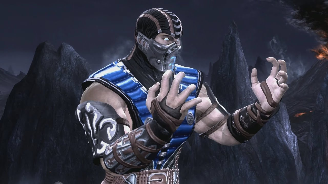 Scorpion mortal kombat 9 costume