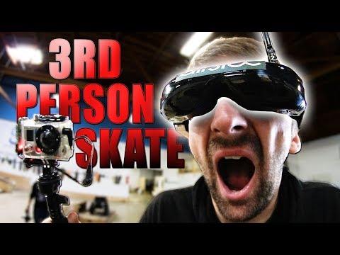 VIRTUAL REALITY GOGGLES HARDEST GAME OF SKATE! | STUPID SKATE EP 146