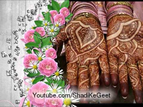 shadi Ke Geet Mehndi Lagane Ki Raat Aa Gayi video