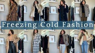 FREEZING COLD FASHION   Winter Outfit Inspo   Reesenguyenn