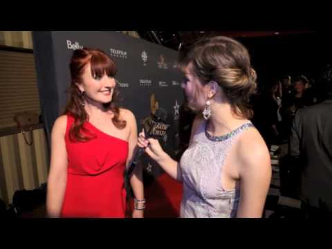 KATIE CHATS: CSA, Alison Eastwood, Editor-in-Chief HELLO!, Presenter, 2014 Canadian Screen Awards