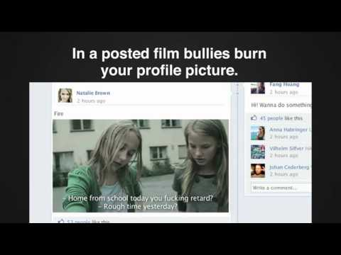 Case study film of the Bullying Simulator by Lowe Brindfors.   In Sweden, one out of three teenagers are being bullied on the net. But adults see nothing, and are relatively unaware of the problem. The Swedish Schools Inspectorate claims nine out of ten schools are doing to little to prevent mobbing, and especially on the net. The Bullying Simulator app allows you to experience what it really feels to be cyber bullied.