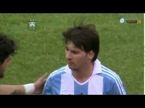 Argentina 4 vs Brasil 3   Amistoso   9 de Junio de 2012   HD FULL