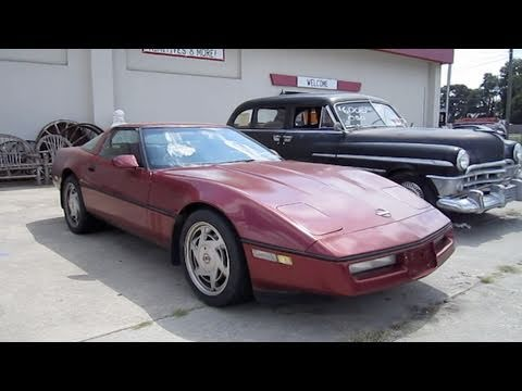 1988 Chevrolet Corvette Start Up. Exhaust. and In Depth Tour