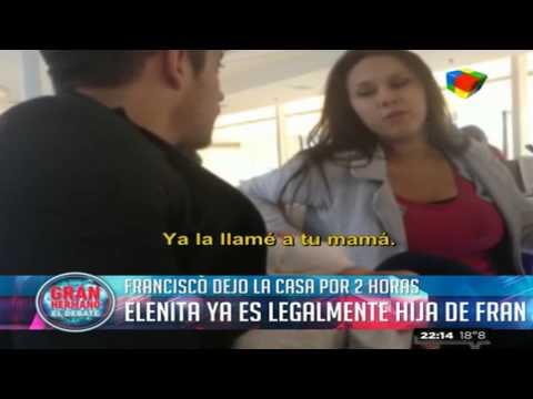 Gran Hermano 2015: Francisco y su salida: Elenita ya es legalmente su hija