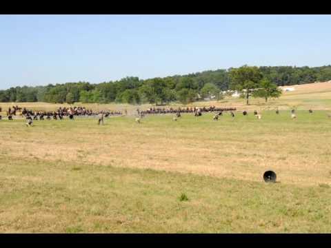 Gettysburg Re-enactment--the shooting begins
