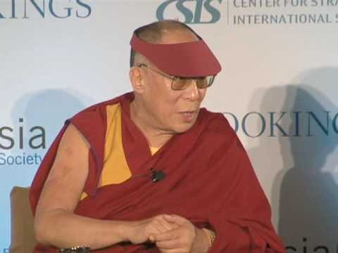 The Dalai Lama on Burma and Climate Change