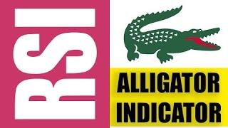 RSI + Alligator. IQ Option Binary Option Pattern