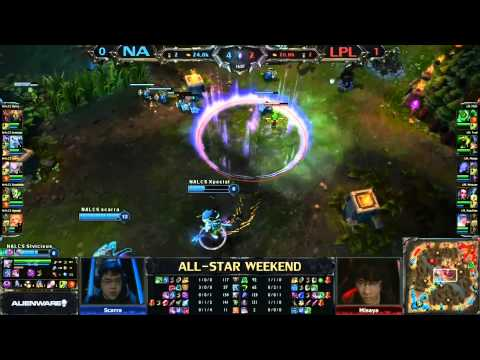 2013 ALL-STAR League of Legends NA vs China game 2
