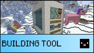 FILL TOOL IN ONE COMMAND (Minecraft 1.11)