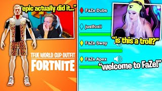 TFUE *REVEALS* HIS SKIN! FaZe Clan RECRUITS HER! MONGRAAL *TOXIC* after STREAM SNIPED! (Fortnite)