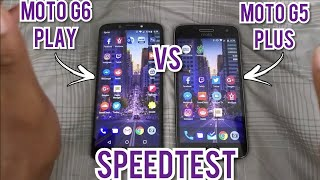 Moto G6 Play vs Moto G5 Plus Speedtest!