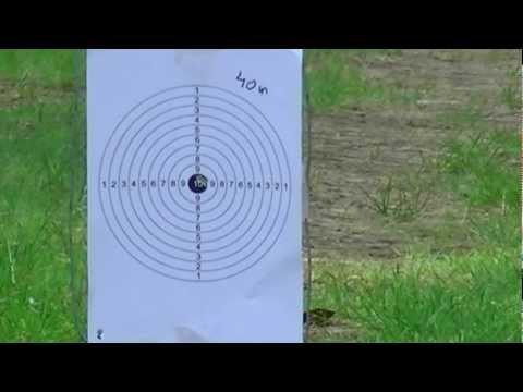 PCP Air Rifle Air Arms S410-SL XTRA FAC .22 - shooting test (part 2)