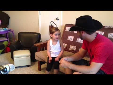 Craig Campbell and Preslee Campbell singing Outta My Head