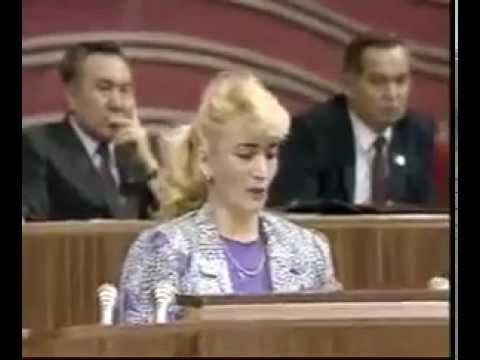 Сажи Умалатова требует отставки Горбачёва (1990 год)