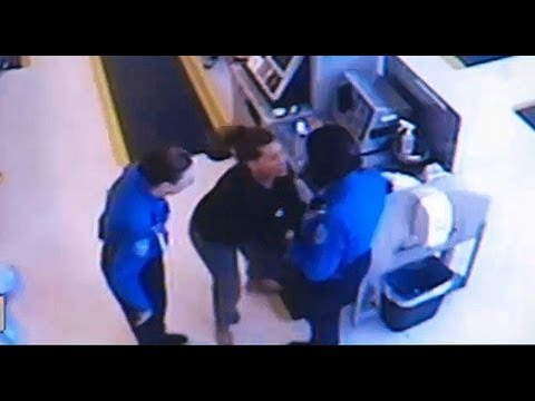 VIDEO: Woman Gropes TSA Agent