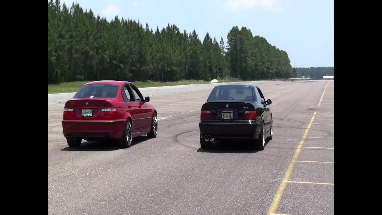 Bmw E46 330i Zhp Vs E36 M3 Youtube