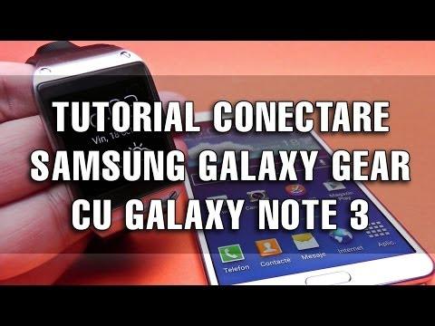 Tutorial: Conectare Samsung Galaxy Gear cu Samsung Galaxy Note 3 pentru prima oară - Mobilissimo.ro