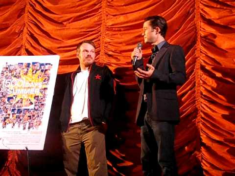 Marc Webb & Joseph Gordon-Levitt @ 500 Days Of Summer Screening 6/23/09