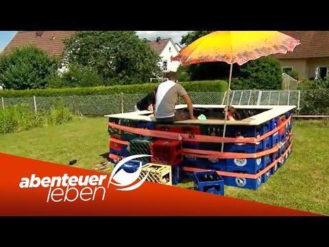 Einfach Und Günstig Selber Bauen: Der Bierkasten-Pool | Abenteuer Leben