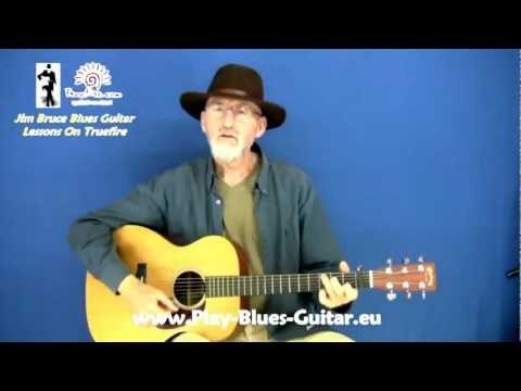 Acoustic Blues Techniques - #4 Scrapper Blackwell - Guitar Lesson - Jim Bruce