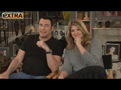 Kirstie Alley's Night with John Travolta Was Her Dream Come True