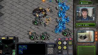 StarCraft Remastered 1v1 (FPVOD) Artosis (T) vs mjelove (T) Circuit Breakers