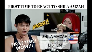 [REACTION] FIRST TIME LISTENING to SHILA AMZAH! What a Delicate Voice! | #JANGReacts