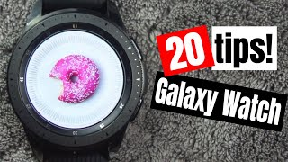 20 Galaxy Watch Tips!