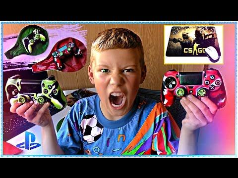 Прокачиваем Dualshock 4 ЧЕХОЛ СИЛИКОН PS4 + Коврик CsGo =ПОСЫЛКА ИЗ КИТАЯ Покупки с Aliexpress