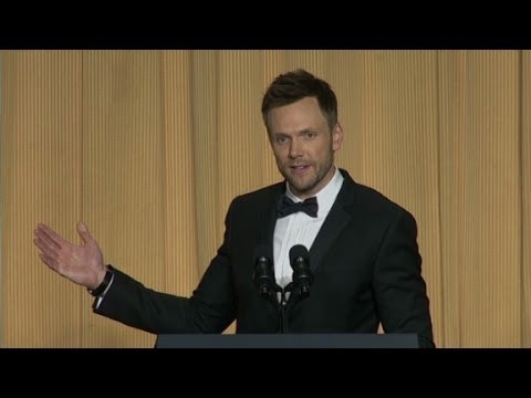 Joel McHale dishes it out at correspondents' dinner