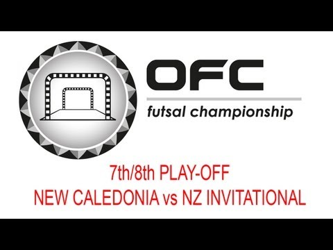 2013 OFC Futsal Championship Invitational Match Day 4 New Caledonia vs New Zealand Invitational