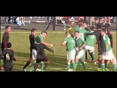 Milk Cup 2013 - Elite Final, Mexico v Northern Ireland - BBC Sport NI highlights