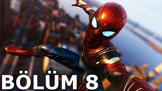 YENİ IRON SPIDER ZIRHI! (Marvel's Spider-Man #8)
