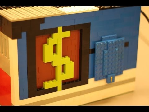 The Amazing Safe – Nxt Lego