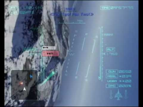 ace combat 04 distant thunder mission 3 northern eye