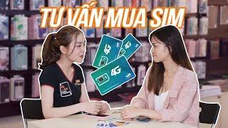 Tư vấn mua sim 4G: Bạn hợp sim nào??