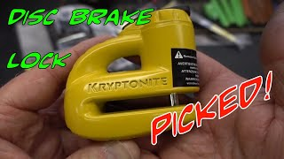 (1453) Kryptonite Keeper (5-S2) Disc Brake Lock
