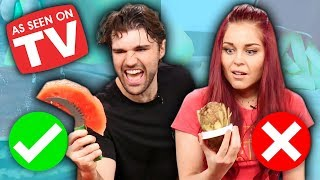 "6 WEIRD ""As Seen on TV"" Kitchen Gadgets Tested! (What the Flavor)"