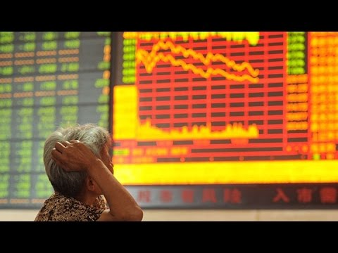 The Shanghai Composite Index Takes a Beating: Joe Weisenthal's Killer Chart