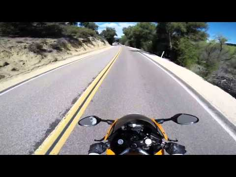 Motorcycle ride to Julian CA over Mt Laguna. Part One.