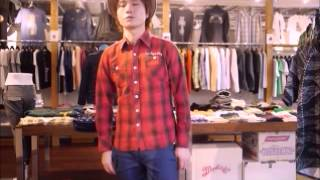 TMT L/SL STANDARD CHECK WORK SHIRTのご紹介 セレクトショップCRAWL