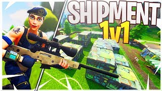 We REBUILT Shipment and Had a Sniper 1v1! (iTemp vs. Ali-A Sniping 1v1)