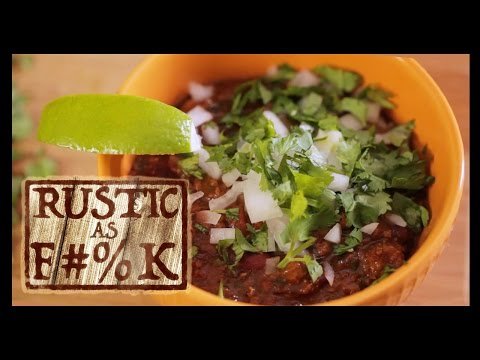 Best Beef Chili Recipe Ever  But Good For You     Rustic As F %k