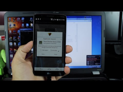 How To Root LG G3 Verizon AT&T International [EASY METHOD]