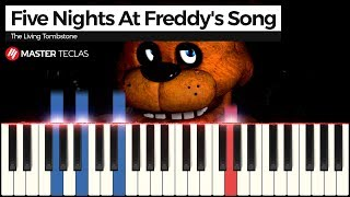 💎 Five Nights At Freddy's Song - The Living Tombstone | Piano Tutorial 💎