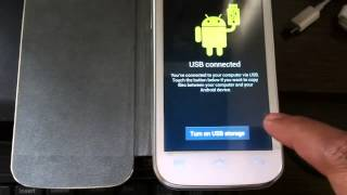 How To Connect Android Mobile Device To Windows 7 PC With USB [Micromax, Samsung]