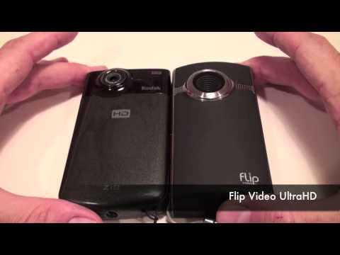 Flip UltraHD vs. Kodak Zi8 - Review by HighTechDad