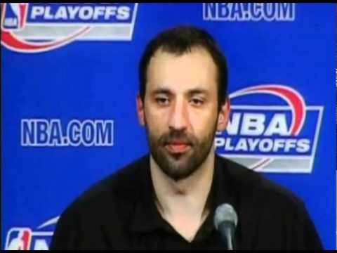 Vlade Divac disses Robert Horry and Horry responds